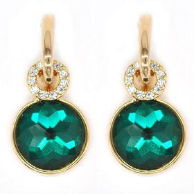 Bella Bella Gold Coloured Fashion Earrings  (TBE063)