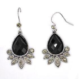 Bella Bella Silver Coloured Fashion Earrings  (TBE069)