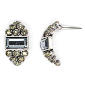 Bella Bella Silver Coloured Fashion Earrings  (TBE070)