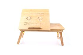 Multi-Functional Eco Friendly Bamboo Laptop Table (Small) 1.96kg
