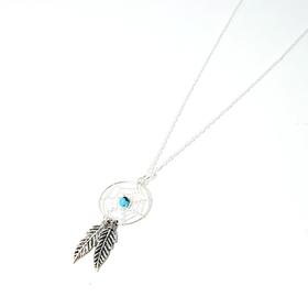 Lakota Inspirations Sterling Silver Dream Catcher Necklace