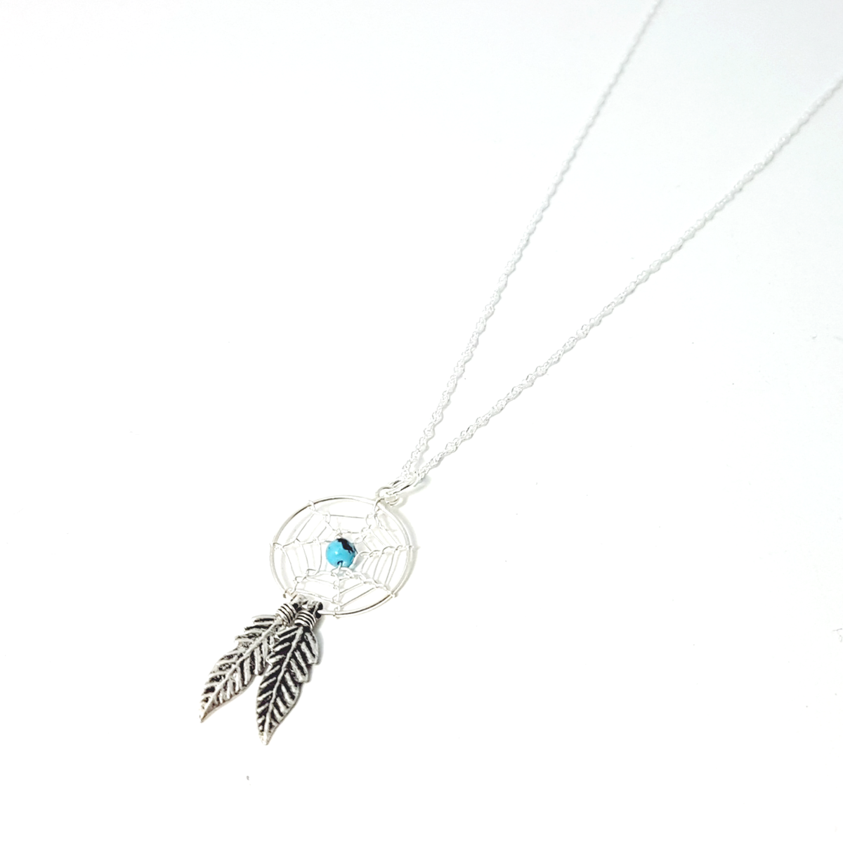 dream necklace dainty product lucky charm hugerect simple catcher dreamcatcher