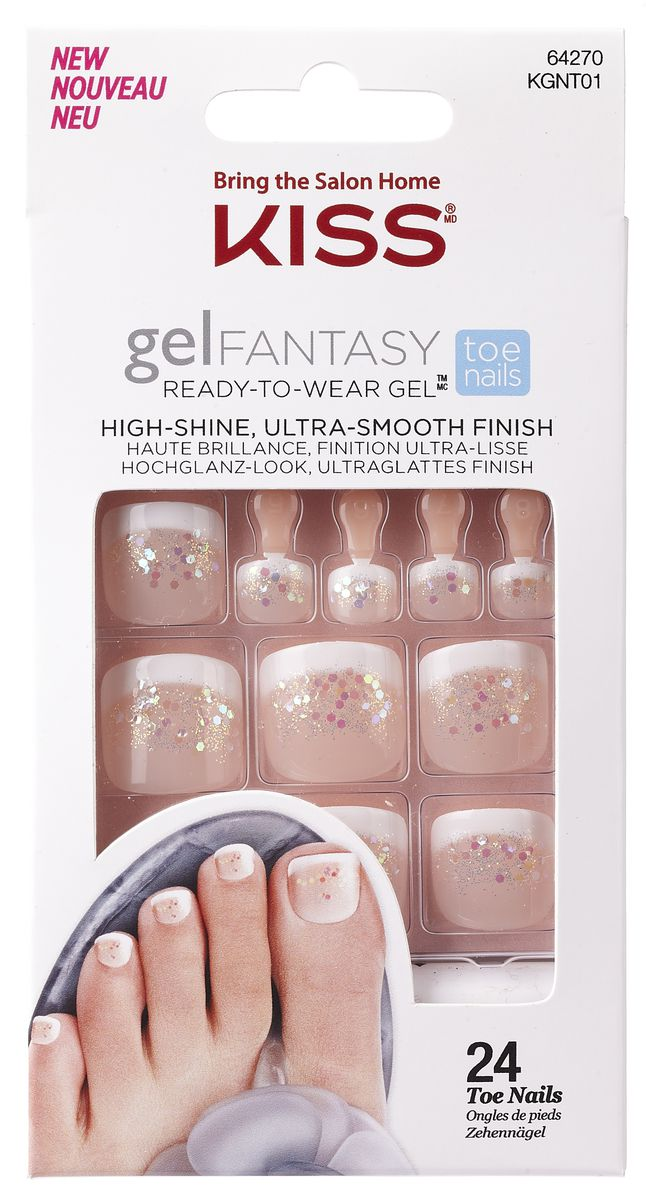 Kiss Gel Fantasy Toe Nails | Buy Online in South Africa | takealot.com