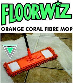 Floorwiz - Coral Mop - Orange