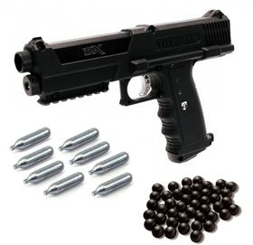 Tippmann TipX Pistol Type Paintball  Kit - 0.68 Calibre