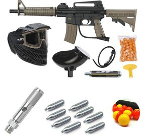 Jt Tactical Ready-To-Play Paintball Kit - 0.68 Caliber