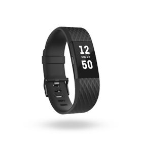 Fitbit Charge 2- Black Gunmetal in Large