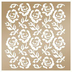 Couture Creation Anna Griffin 8 x 8 Stencil - Rose Trellis