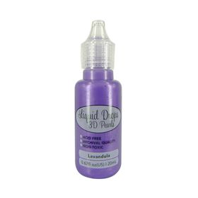Ultimate Crafts Liquid Drops 3D Pearls - Lavandula