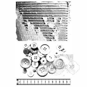 49 and Market Stamp Set - Gabi's Grunge Texture