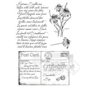 49 and Market Stamp Set - Gabi's Postcard from Paris