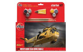 Westland Sea King HAR.3 1:72 Scale Plastic Model Kit