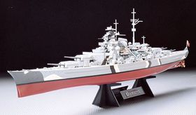 1:350 Bismarck Battleship model kit
