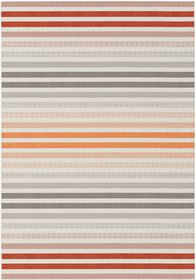 Rugs Original Star - Red, Grey & Orange Stripe