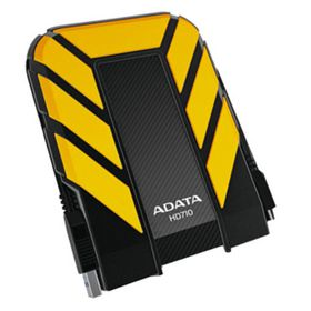 Adata HD710 USB3.0 2TB External Hard Drive - Yellow