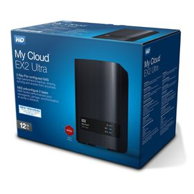 Western Digital My Cloud EX2 Ultra NAS 12TB
