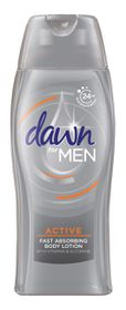 Dawn For Men Active Body Lotion 400ml