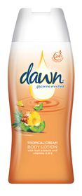 Dawn Tropical Cream Body Lotion 400ml