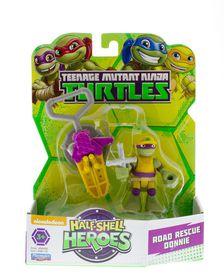Teenage Mutant Ninja Turtles Half Shell Heroes 2 Pack Figures - Road Rescue Donnie