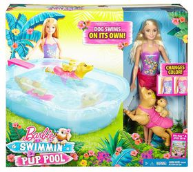 Barbie & Swimming Pup Pool