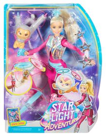 Barbie Star Light Adventure Galaxy Barbie Doll & Hover Cat
