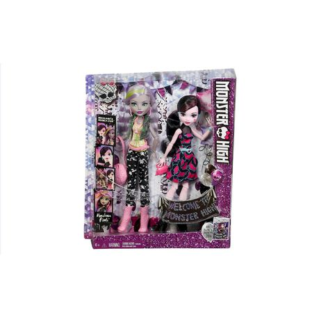 Monster High Monstrous Rivals 2 Pack Dolls Draculaura Moanica Buy Online In South Africa Takealot Com