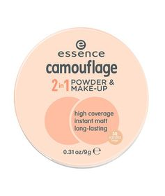 Essence Camouflage 2-In-1 Powder & Make-up - 30