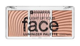 Essence Light Up Your Face Luminizer Palette - 10