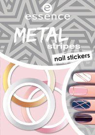 Essence Metal Stripes Nail Stickers - 04