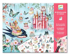 Djeco Arts & Crafts Picture Transfers: In Fairyland