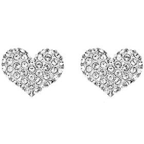 Guess Basic Instinct Heart Stud Earrings UBE51405