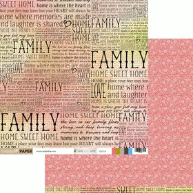 Celebr8 Home Sweet Home Double Sided Paper - Together (10 Sheets)