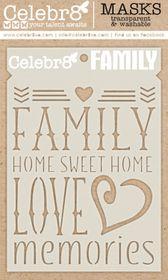 Celebr8 Home Sweet Home Mask - Family