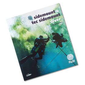 PADI Scuba Side mount & Tec Side mount Diver Textbook