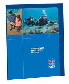 PADI Scuba Diving Underwater Navigator Textbook
