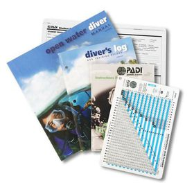 PADI Scuba Diving Open Water with RDP Table Textbook