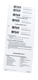 PADI Scuba Diving Instructor Open Water Cue Card