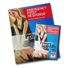 PADI Scuba Diving EFR Manual & DVD Primary & Secondary Care Textbook
