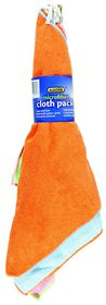 Addis - 4 Pack Microfiber Cloth Promotion
