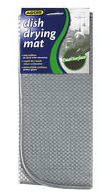 Addis - Dish Drying Mat - Grey