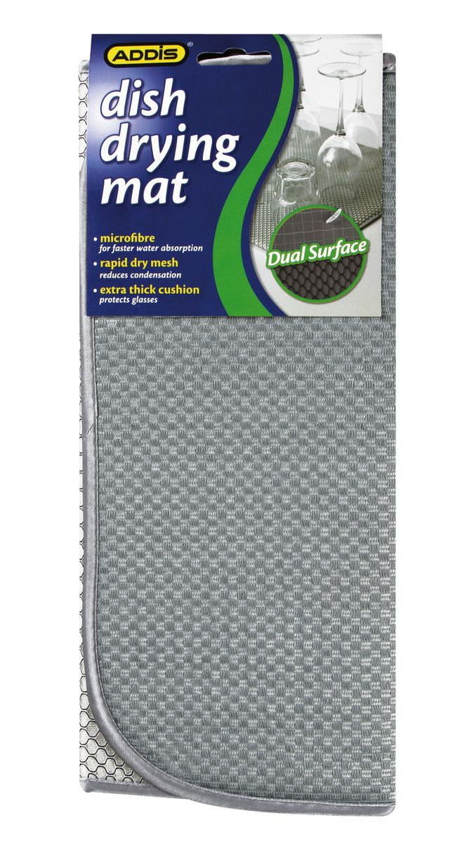 Addis Dish Drying Mat Grey 9099 Buy Online In