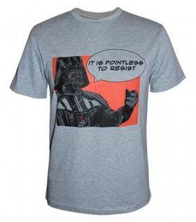 Darth Vader Pointless T-Shirt - Grey