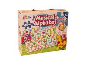 Grafix Musical Alphabet Floor Puzzle