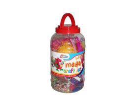 Grafix Arts And Crafts - Mega Craft Jar Pink