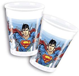 Superman Comics-Plastic Cups 200ml
