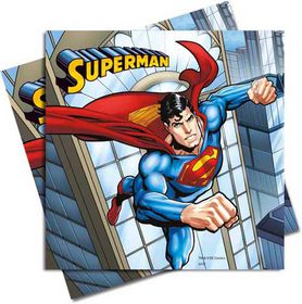Superman Comics-Two-Ply Paper Napkins