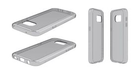 Body Glove Ghost Case for Samsung Galaxy S7 - Grey