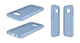 Body Glove Ghost Case for Samsung Galaxy S7 - Blue