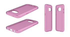 Body Glove Ghost Case for Samsung Galaxy S7 - Pink