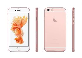 Body Glove Clownfish Aluminium Case for iPhone 6/6S Plus - Clear/Rosegold